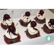 Black forest cupcakes - summer limited edition