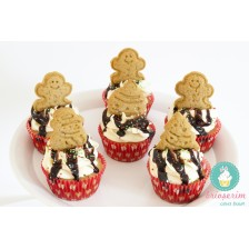 Gingerberad cupcakes - winter edition