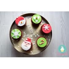 Cutie cupcakes Christmas fun - Craciun