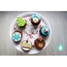 Cutie cupcakes Winter fun - Craciun