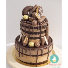 Tort naked Double Chocolate