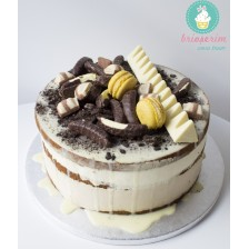 Tort naked White choco & coffee