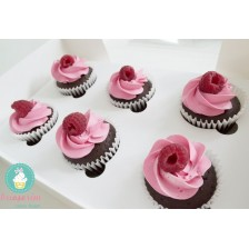 Raspberry dream cupcakes