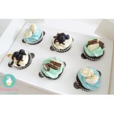 Mix & Match cupcakes - 4 arome (cutie 12 bucati)