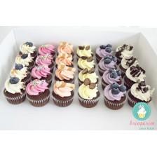 Mix & Match mini cupcakes - 4 arome (cutie 24 bucati)