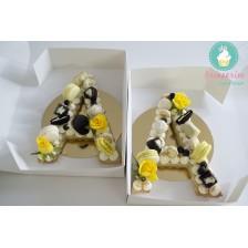 Tort litera - Biscuit Tart Layered Cake